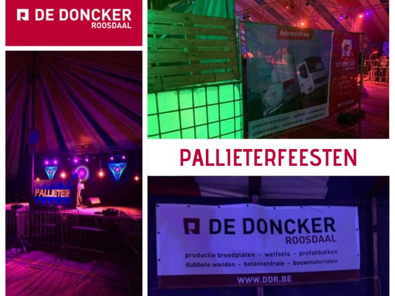 Sponsoring Pallieterfeesten - De Doncker Roosdaal
